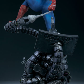 Spider-Man Premium Format™ Figure Doc Ock Tentacle Base with Oscorp Monitors Detail 4