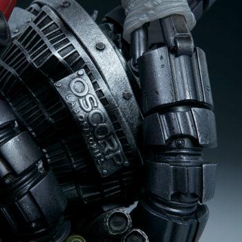 Spider-Man Premium Format™ Figure Oscorp Machinery Base Detail