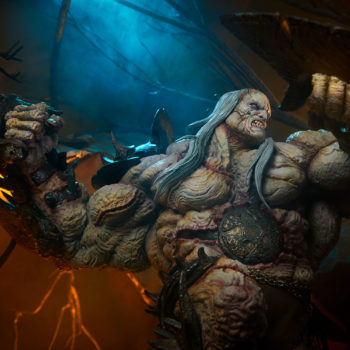 Odium: Reincarnated Rage Maquette with Dramatic Environment Image 2