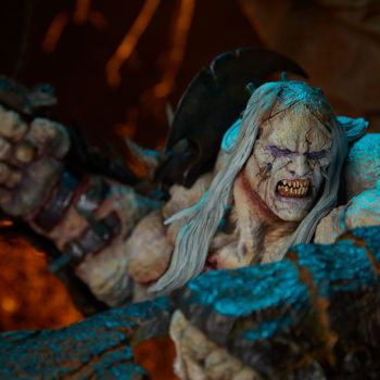 Odium: Reincarnated Rage Maquette Dramatic Environment Image, Close Up on Portrait