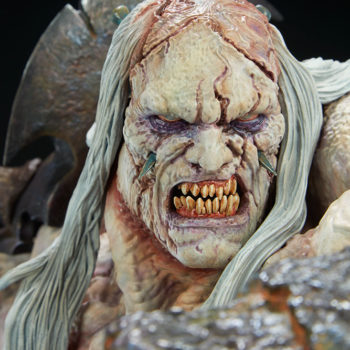 Odium: Reincarnated Rage Maquette Portrait Close Up 1
