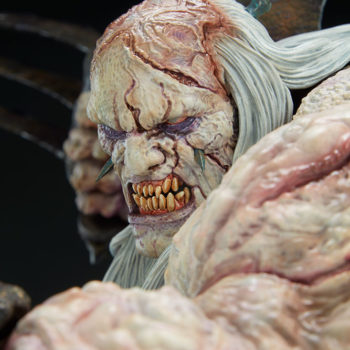 Odium: Reincarnated Rage Maquette Portrait Close Up 3