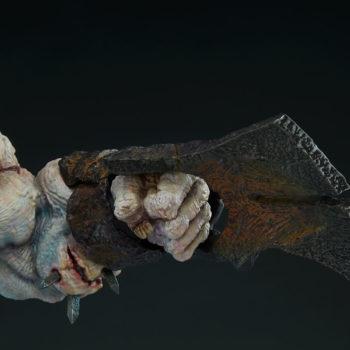 Odium: Reincarnated Rage Maquette Arm Weapon Detail Shot