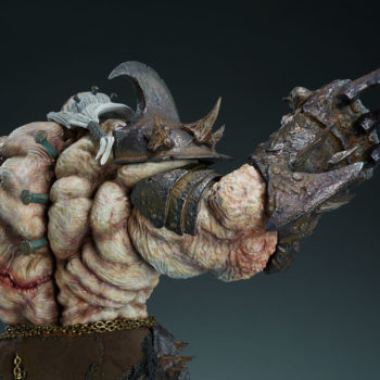 Odium: Reincarnated Rage Maquette Arm Claw Weapon Detail 2