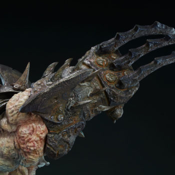 Odium: Reincarnated Rage Maquette Arm Claw Weapon Close-Up Detail 3