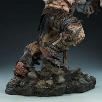 Odium: Reincarnated Rage Maquette Base and Lower Legs Details