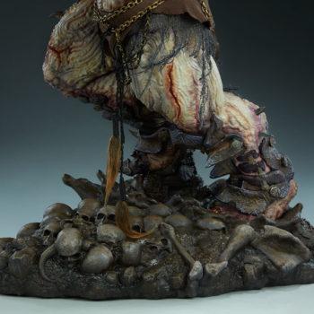 Odium: Reincarnated Rage Maquette Base Skulls detail