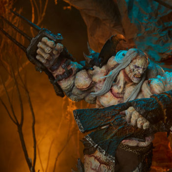 Odium: Reincarnated Rage Maquette Dramatic Lighting Environment Shot 5