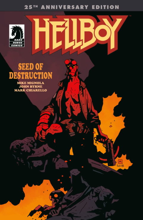 Hellboy: Seed of Destruction- 10 Best Graphic Novels