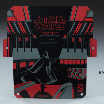 Darth Vader Premium Format™ Figure Base Decal Artwork