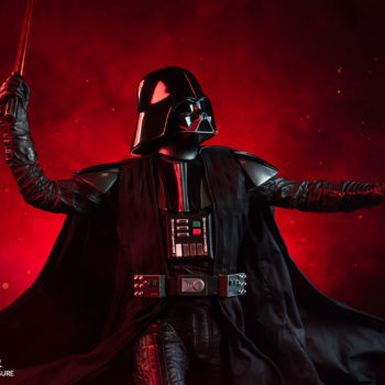 Darth Vader Premium Format™ Figure Dramatic Lighting Shot 2