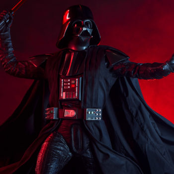 Darth Vader Premium Format™ Figure Dramatic Lighting Shot 4