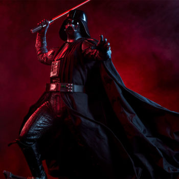 Darth Vader Premium Format™ Figure Dramatic Lighting Shot 5