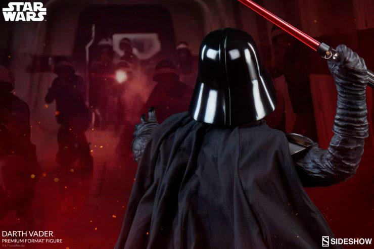 Rebels Beware- New Images of the Darth Vader Premium Format™ Figure Have Arrived