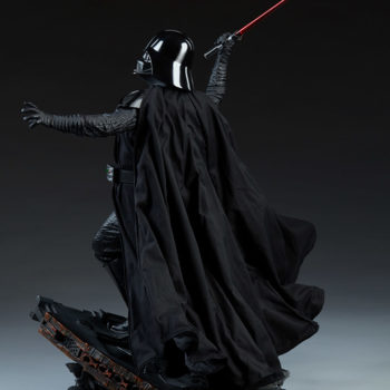 Darth Vader Premium Format™ Figure Open Lit Turnaround 1