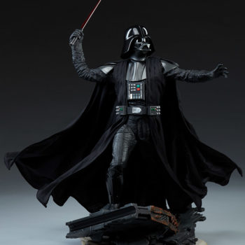 Darth Vader Premium Format™ Figure Open Lit Turnaround 4