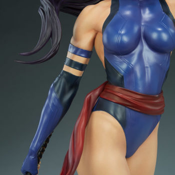 Psylocke Premium Format™ Figure Body Suit Detail Shot