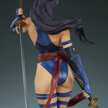 Psylocke Premium Format™ Figure Back View of Statue