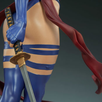 Psylocke Premium Format™ Figure Right Katana Arm Close Up