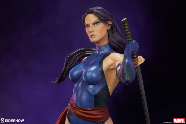 Bring Some Psionic Energy To Your Shelf with New Images of the Psylocke Premium Format™ Figure