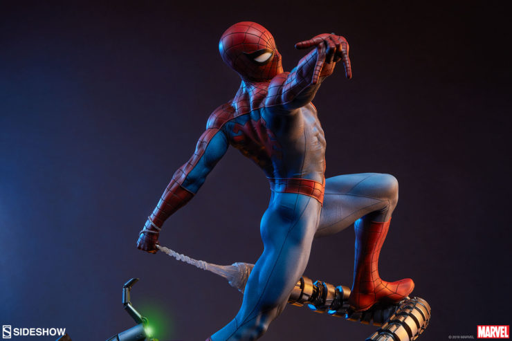 The Spider-Man Premium Format™ Figure Webs His Way into Your Marvel Collection