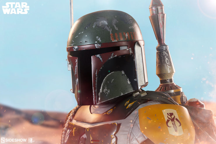 Set Your Sights on the Production Gallery for the Boba Fett Life-Size Bust