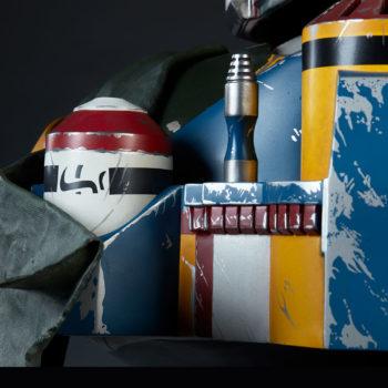 Boba Fett Life-Size Bust Rocket Pack Additional Details