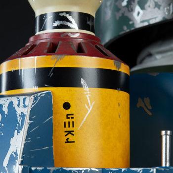 Boba Fett Life-Size Bust Rocket Pack Close Up Details
