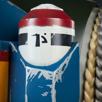 Boba Fett Life-Size Bust Rocket Pack Additional Detail