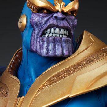 Thanos Bust Portrait Close Up 1