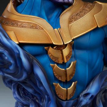 Thanos Bust Torso Armor Close Up