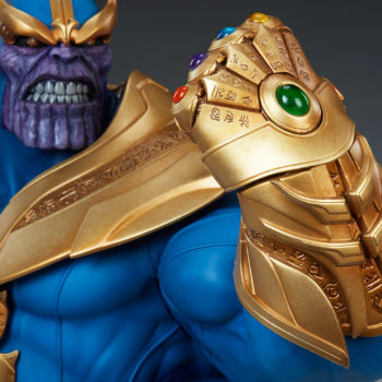 Thanos Bust Infinity Gauntlet Close Up 1