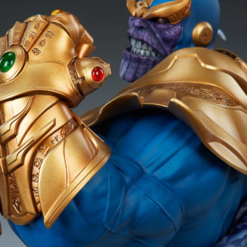 Thanos Bust Infinity Gauntlet Close Up 2
