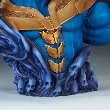 Thanos Bust Souls Base Close Up 1