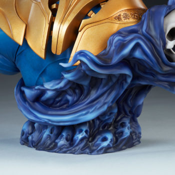 Thanos Bust Souls Base and Mistress Death Close Up
