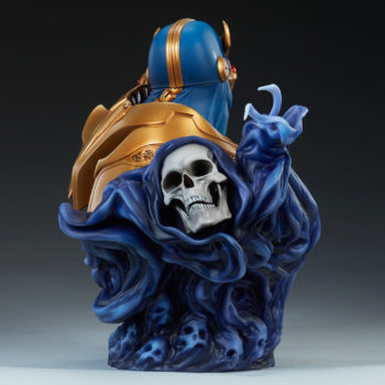 Thanos Bust Open Lit Image 5- with Mistress Death