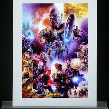 Avengers: Infinity War Fine Art Print by Tsuneo Sanda Unframed Edition