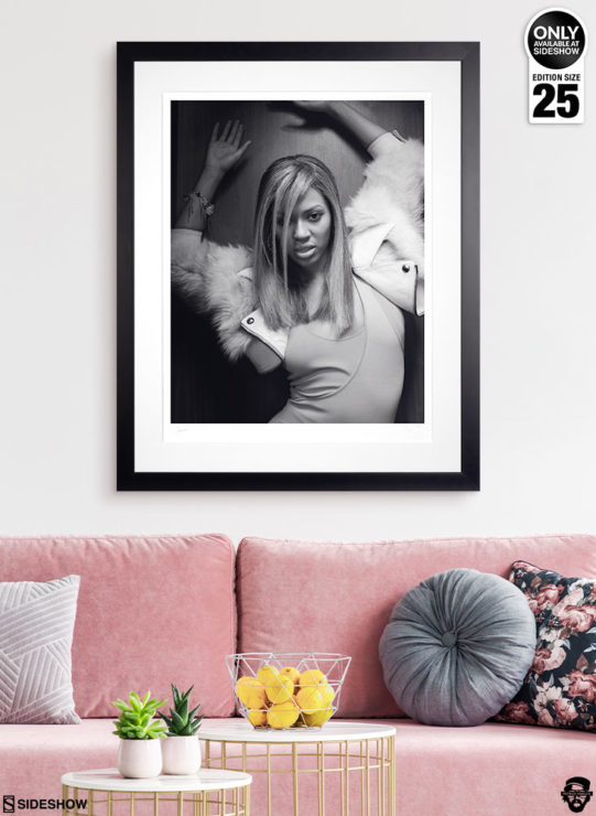 Beyoncé Deluxe Fine Art Print by Patrick Hoelck Framed Edition in Environment Shot