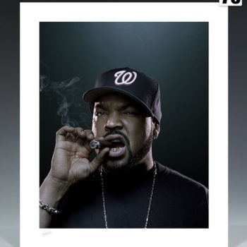 Ice Cube Deluxe Fine Art Print by Patrick Hoelck Unframed Edition