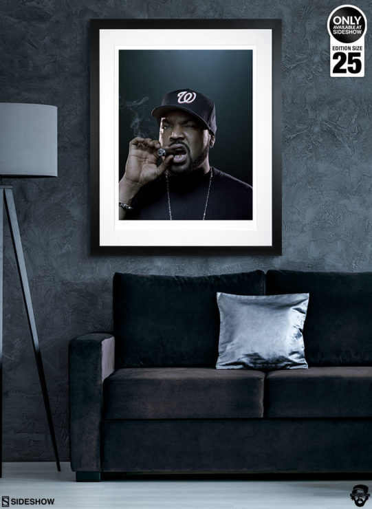 Ice Cube Deluxe Fine Art Print by Patrick Hoelck on Wall Environment Shot