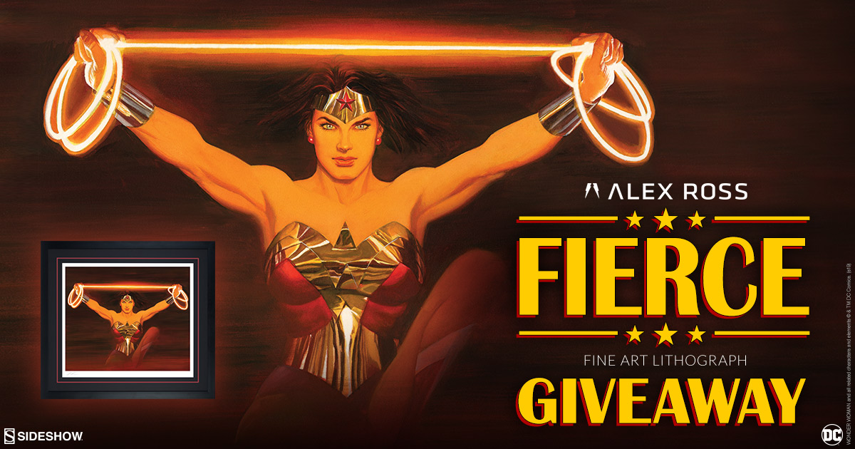 Alex Ross Fierce Fine Art Lithograph Giveaway