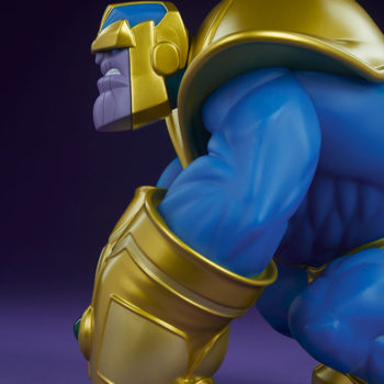 The Mad Titan Designer Toy by Joe DellaGatta- Unruly Industries Figure Side View