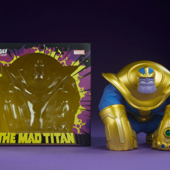 The Mad Titan Designer Toy by Joe DellaGatta- Unruly Industries with Art Box
