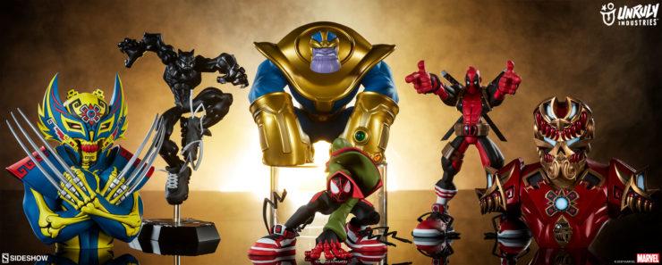Unruly Industries Marvel Designer Toys