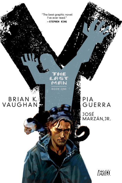 Y: The Last Man Comic Book Cover