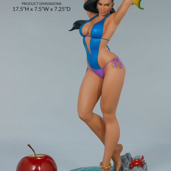 "Street Fighter Laura: Season Pass 1:4 Scale Statue from PCS Collectibles Measurements- 17.5"" H x 7.5"" W x 7.25"" D"