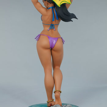 Street Fighter Laura: Season Pass 1:4 Scale Statue from PCS Collectibles Open Lit Turnaround 2