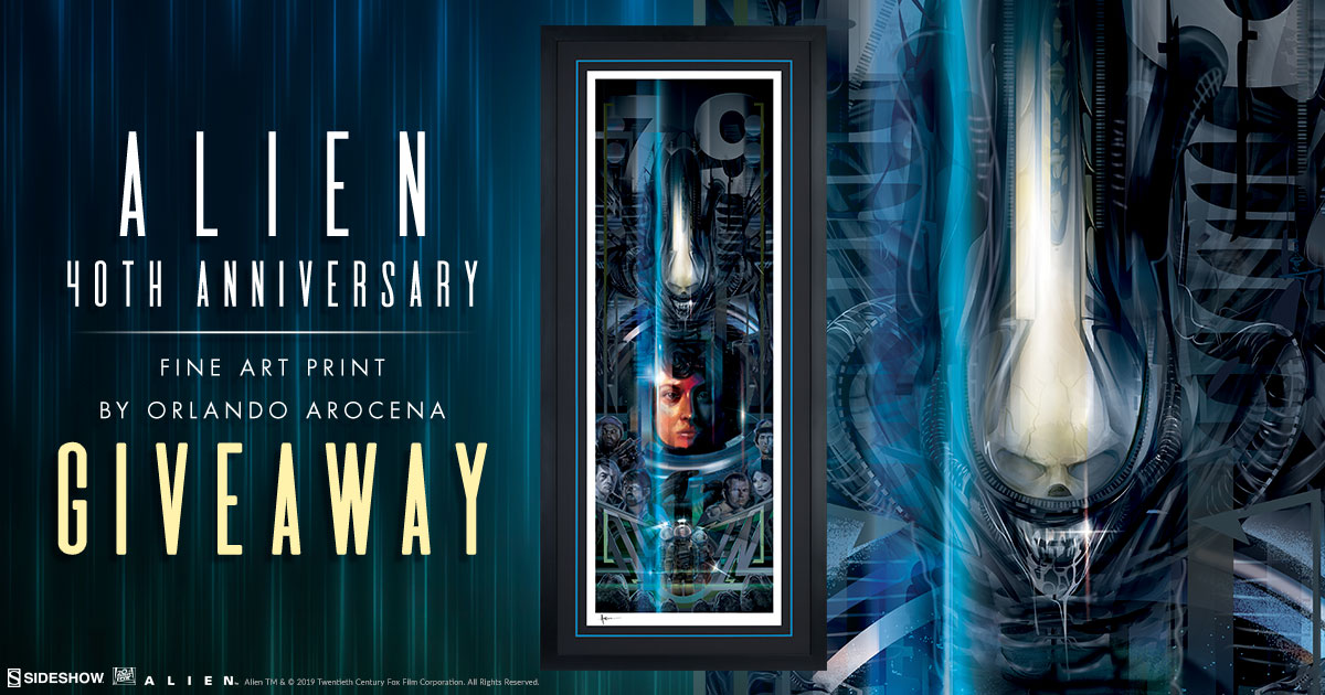 Alien 40th Anniversary Print Giveaway