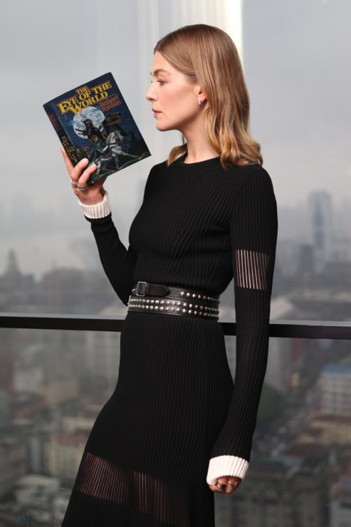 Rosamund Pike Reading The Eye of the World by Robert Jordan