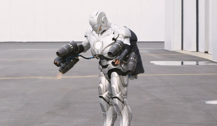 Former Mythbuster Adam Savage Builds a Working Iron Man Suit